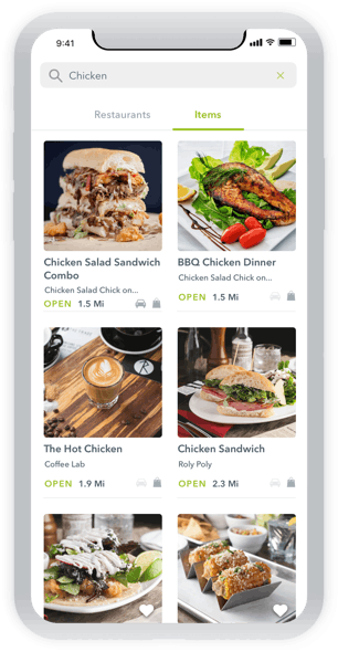 Waitr Food Delivery Carryout